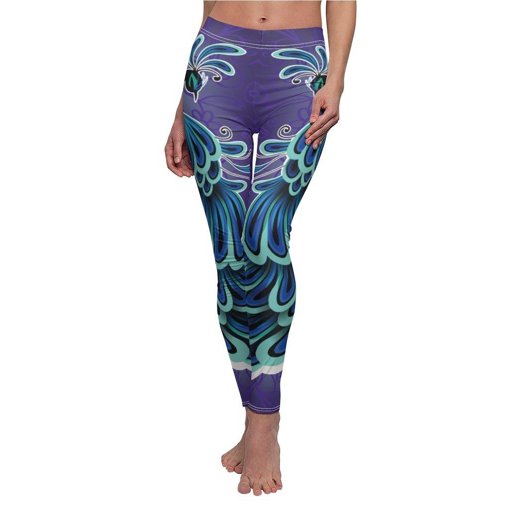 Ornamental Peacock Leggings