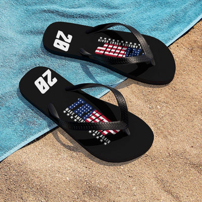 Trump Make America Great Again 2020 Flip-Flops