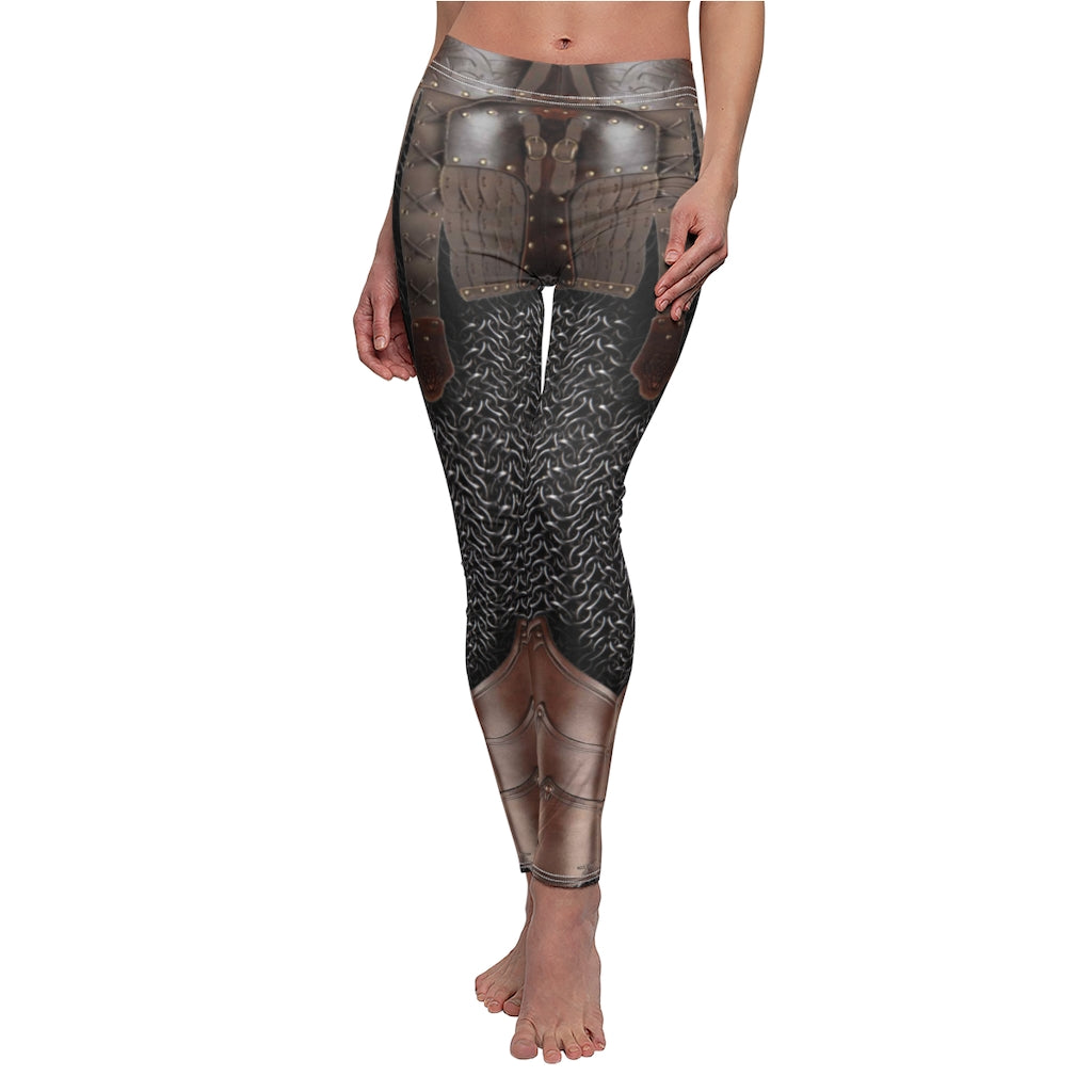 Viking Warrior Women's Halloween Costume Leggings