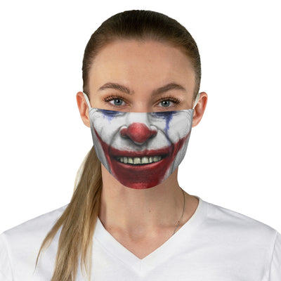 Funny Joker Face Mask Scary Mouth Mask Cover Reusable Mens Adult w/ FREE Filter