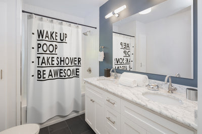 Funny Shower Curtains, Cool Shower Curtains, Quote Shower Curtain, College Dorm Shower Curtain, Unique Shower Curtain, Funny Bathroom Decor