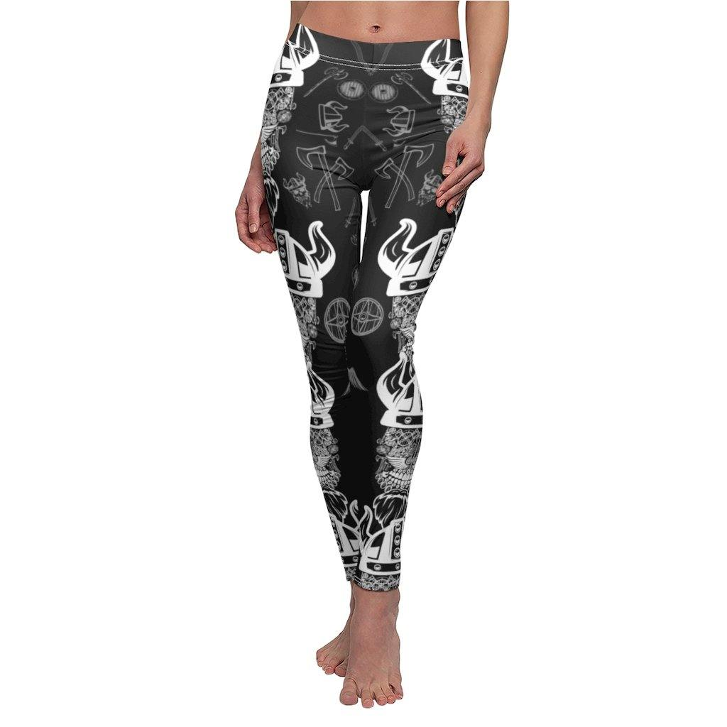 Vikings Skull Leggings