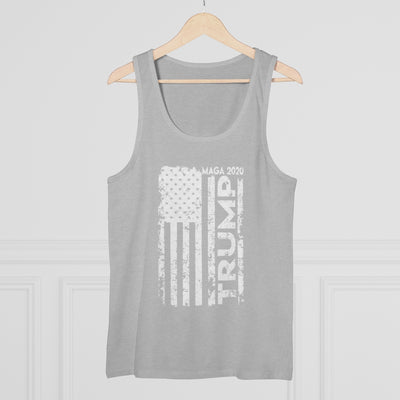 Mens Trump American Flag MAGA 2020 Tank Top Usa Elections Shirt