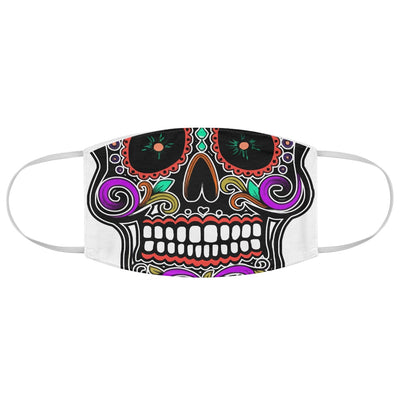 Sugar Skull | Mexico | Mexican | Skeleton | Dia de los Muertos | Sublimation Face Mask | Mouth Nose Cover | Reusable Washable Mask