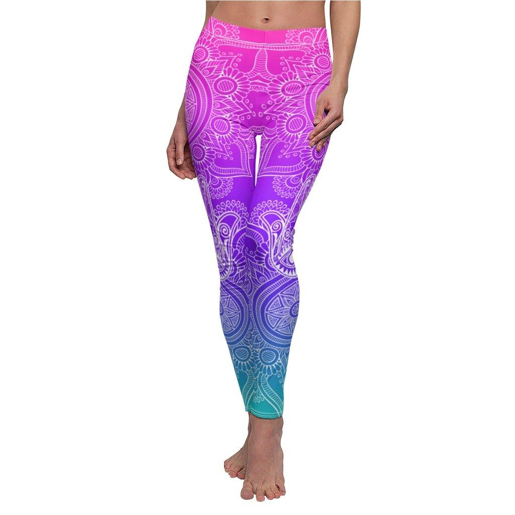 Bright Hamsa Leggings