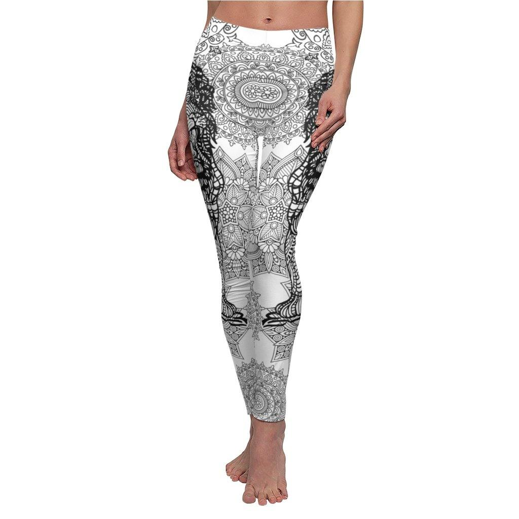 Zentangle Lion Leggings