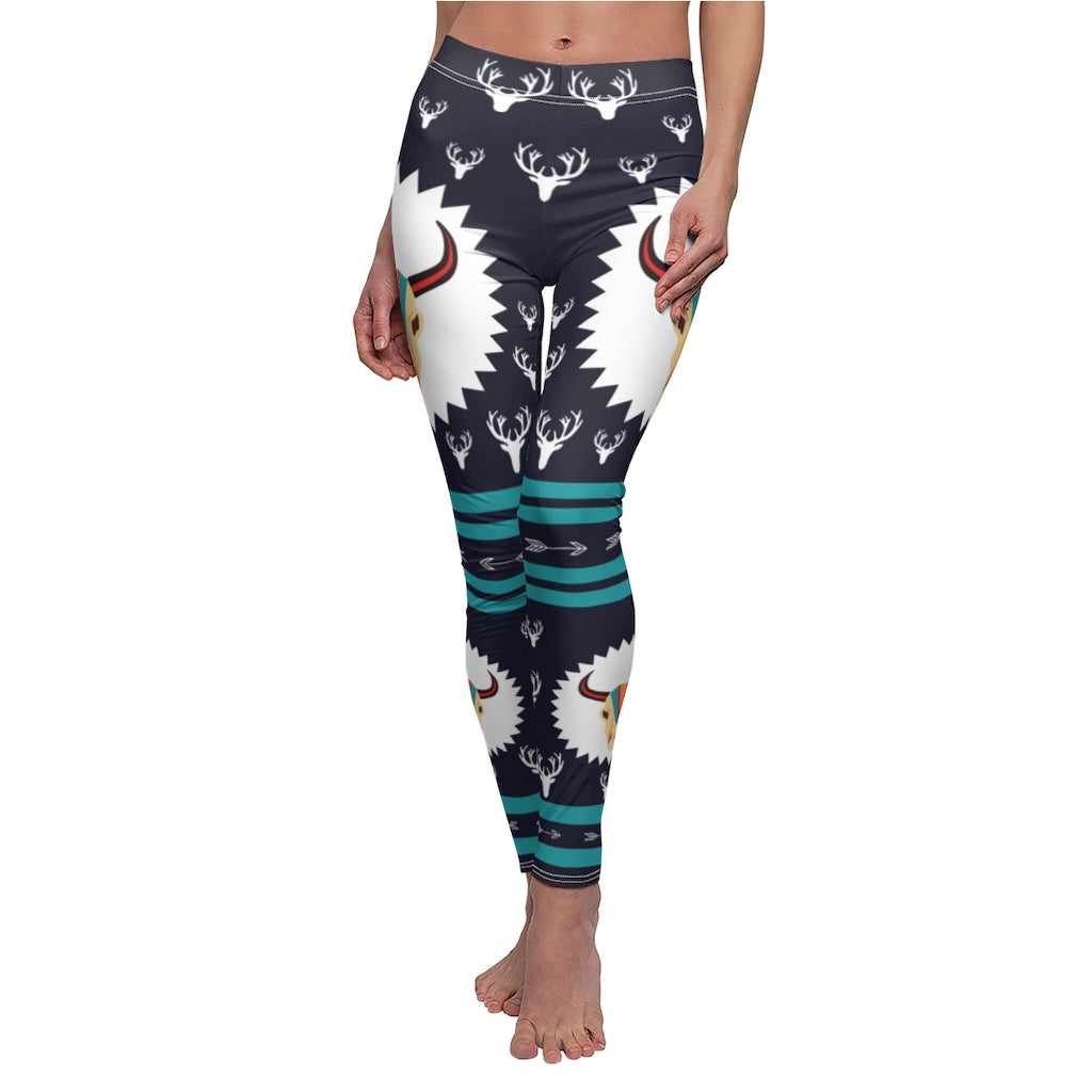 Womens 3D Printed Graphic Leggings, Halloween Fun Design Workout Stretch Pants Various Designs
