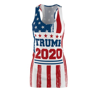 TRUMP 2020 Women's Cut & Sew Racerback Dress