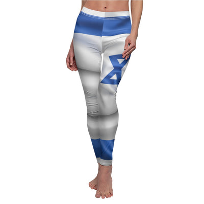Israel Flag Leggings