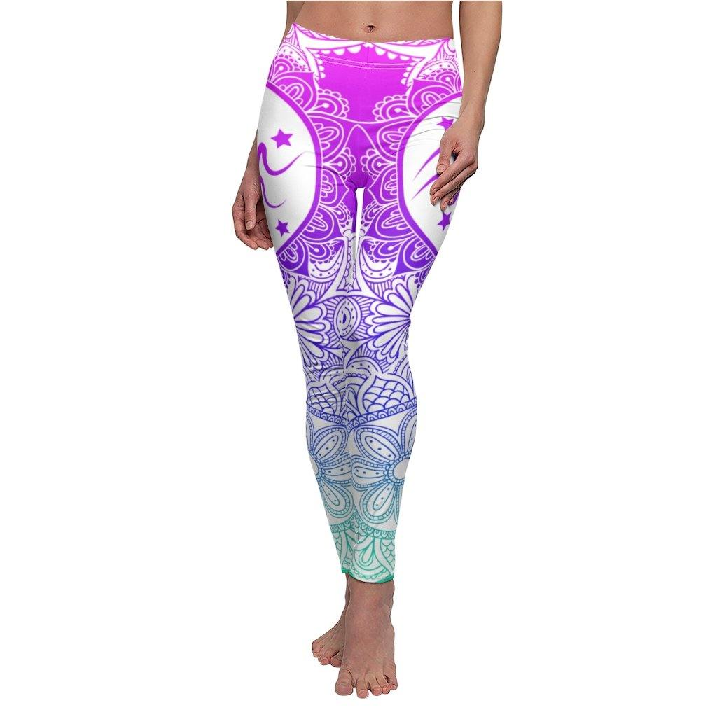 Bright Aquarius Leggings