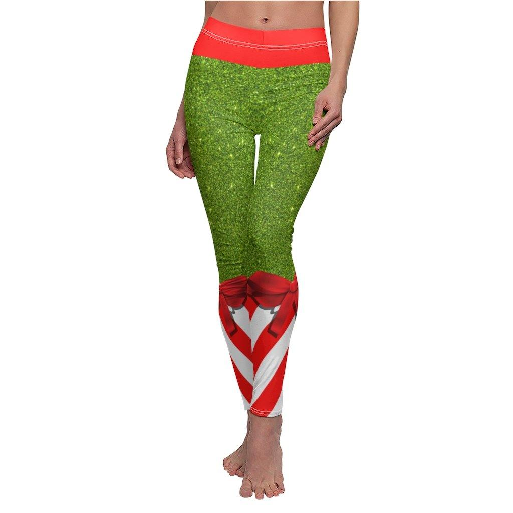 CANDY STRIPE CHRISTMAS LEGGINGS