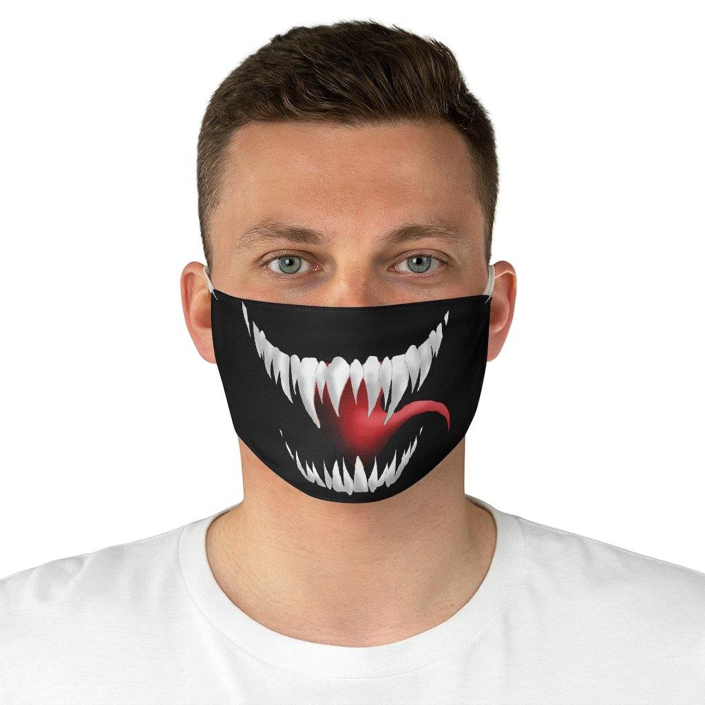 3 pcs Venom Devil Evil Monster Vampire Cotton Masks Scary Half Face Mouth Cover