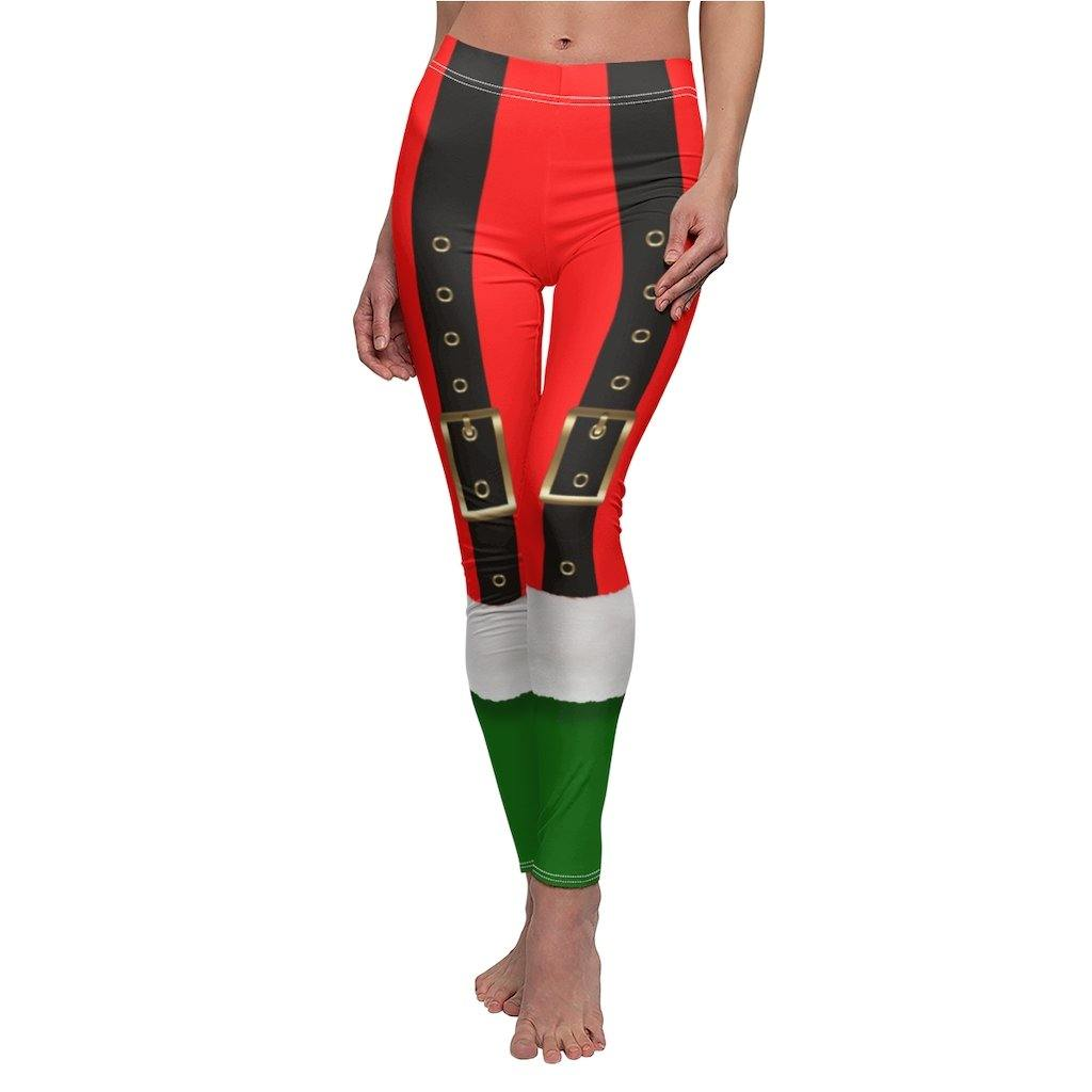 SANTA SUSPENDERS LEGGINGS