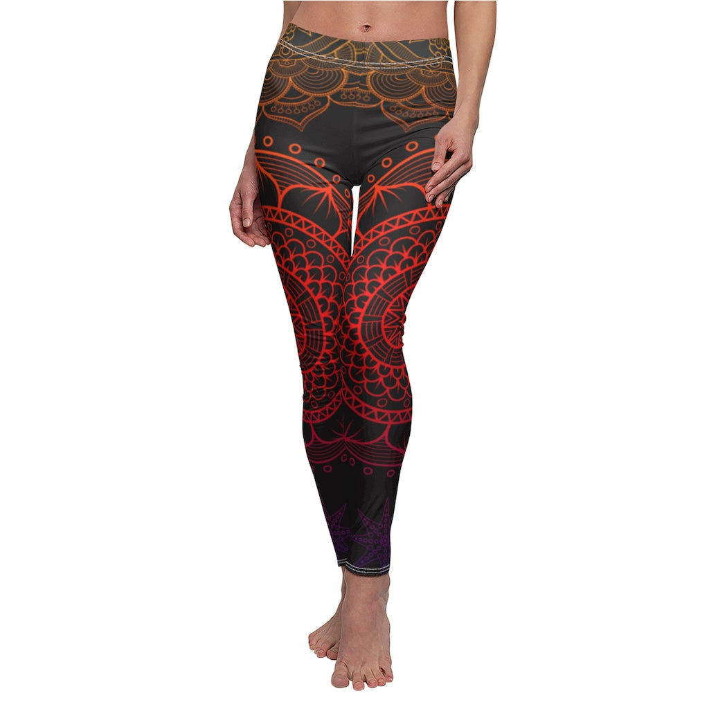 Mandala yoga pants, leggings for women, yoga clothing, yoga shorts, printed leggings, workout leggings, high waist leggings, capri leggings