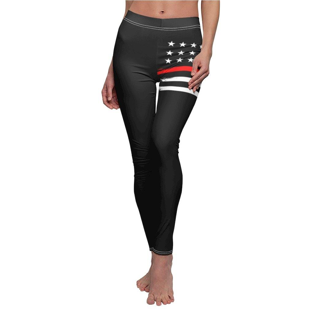 American Flag Leggings for Women, Workout High Waist Yoga Pants for Ladies