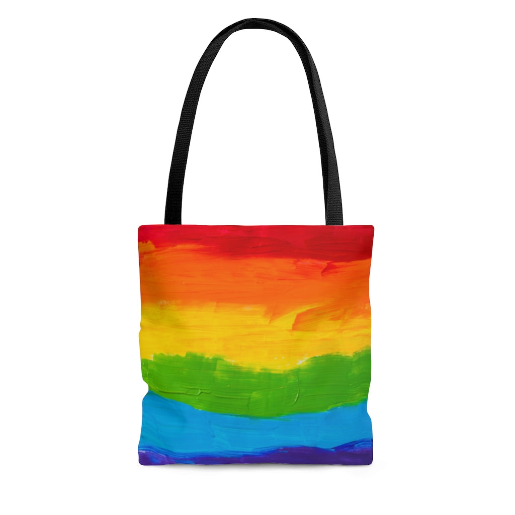 Pride rainbow flag Tote Bag
