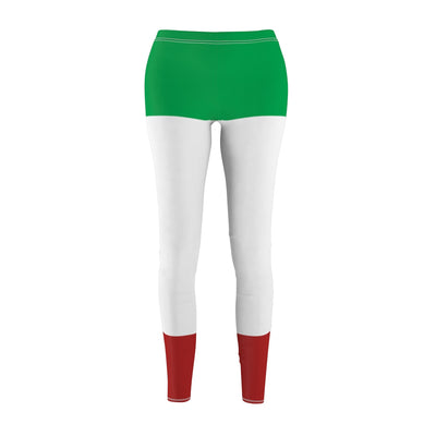 ITALIA! ITALY! Italian Flag Custom Fitness Leggings