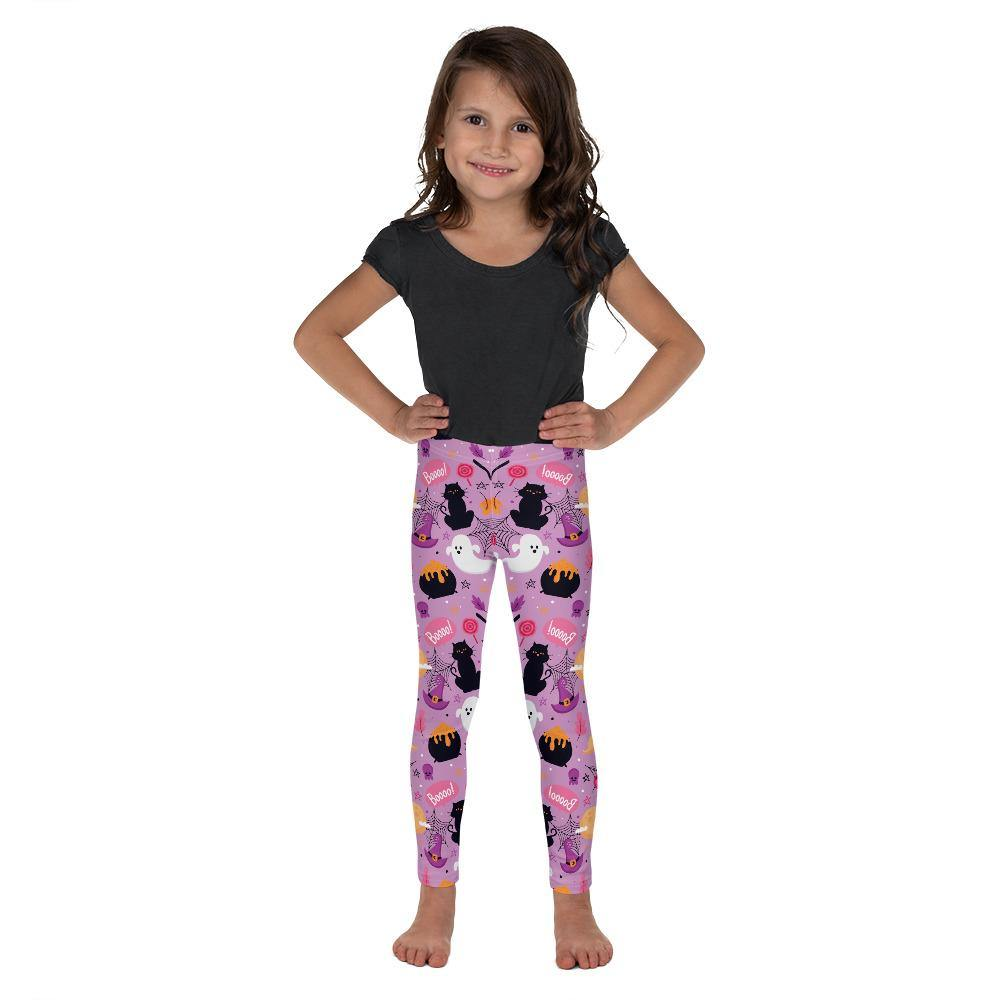 Girls Winter Halloween and Christmas Warm and Fun Print Leggings