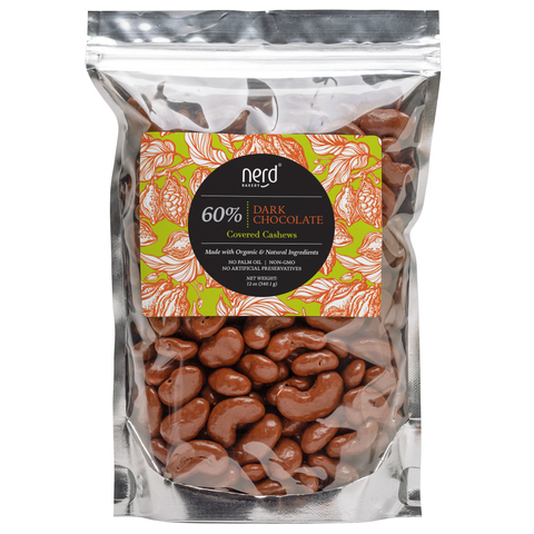 Premium Dark Chocolate Covered Cashews