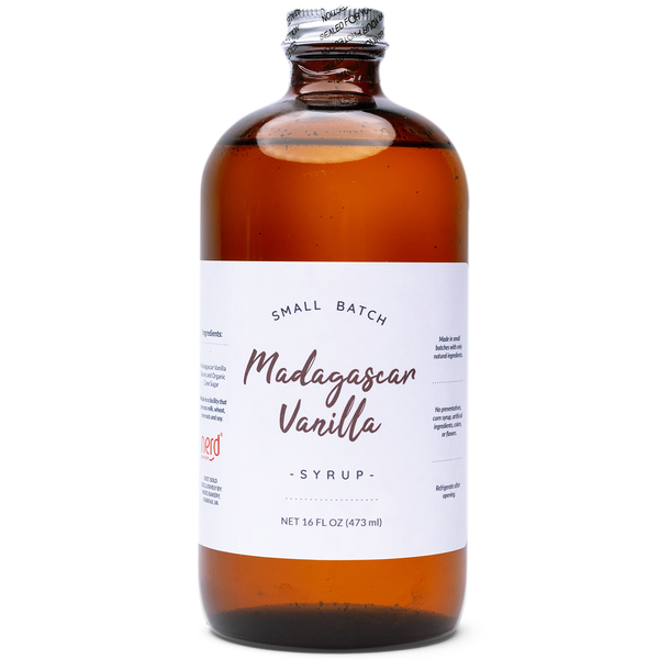 Small Batch Madagascar Vanilla Syrup