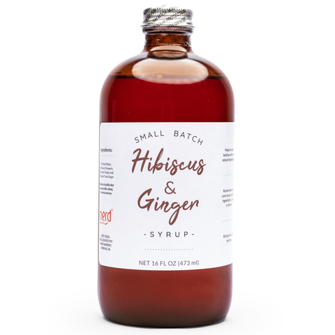 Natural Hibiscus & Ginger Syrup
