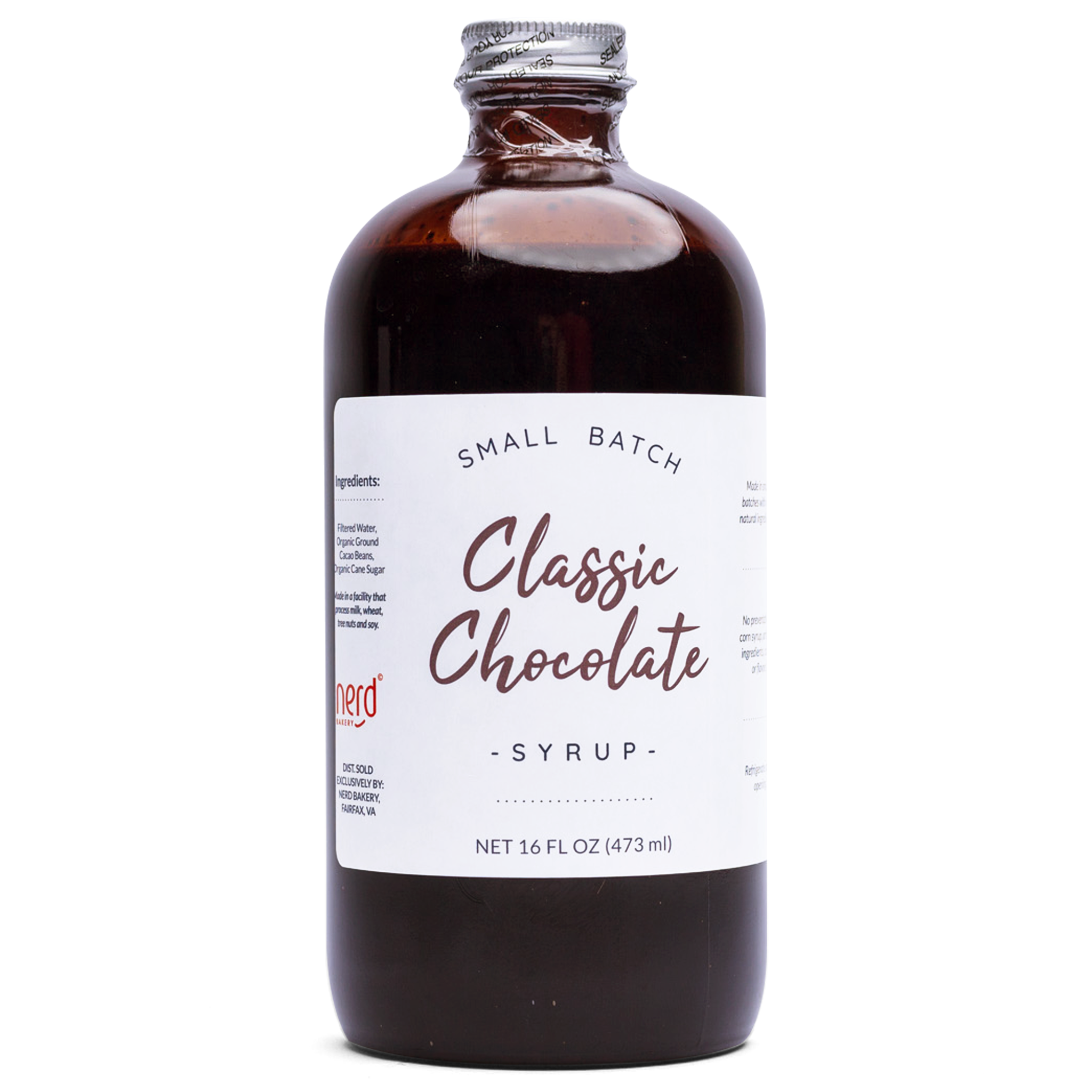 All Natural Chocolate Syrup