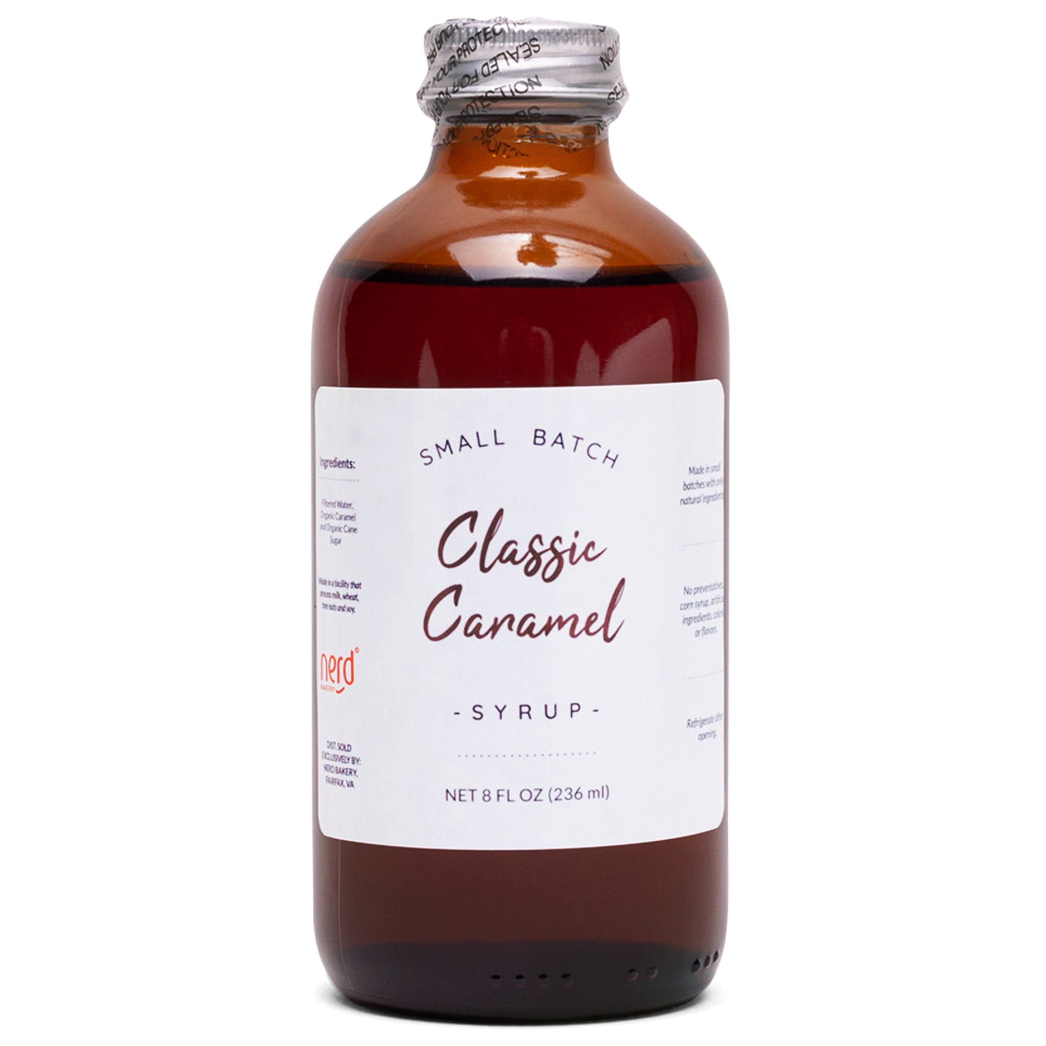 Natural Caramel Syrup