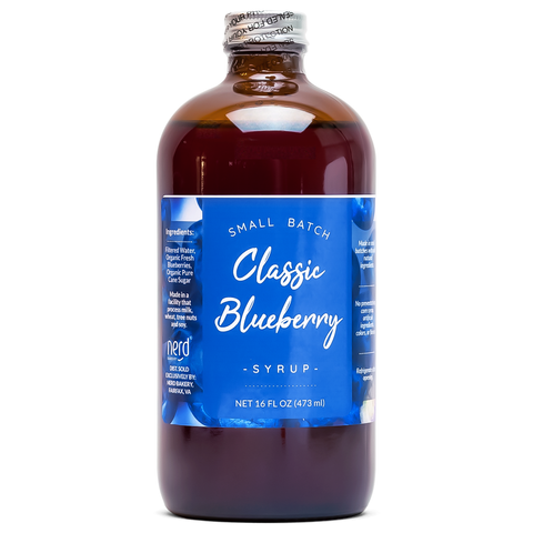 Natural Blueberry Syrup