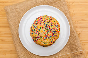 Big Confetti Cookies