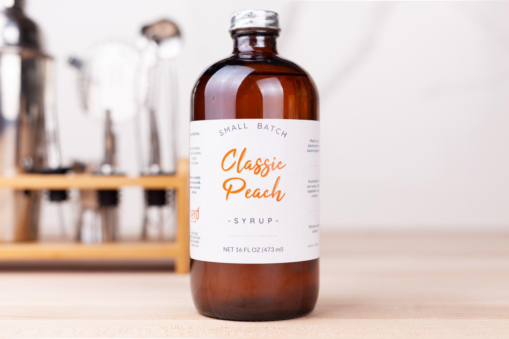 Natural Classic Peach Syrup