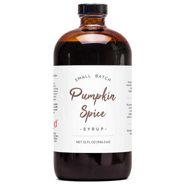 Natural Pumpkin Spice Syrup - Seasonal