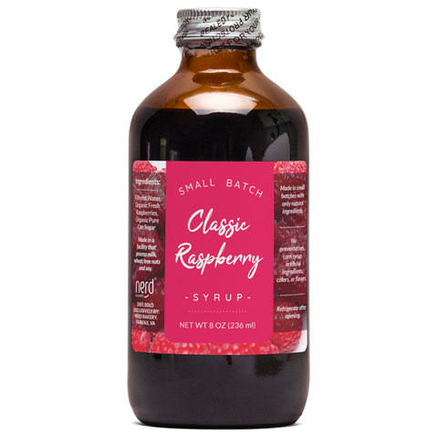 Natural Raspberry Syrup