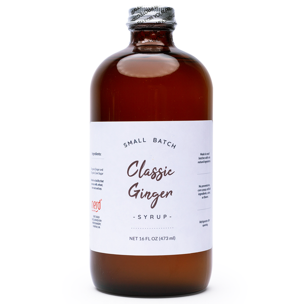 Small Batch Classic Ginger Syrup