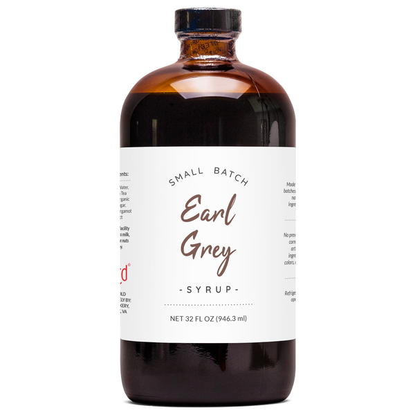Natural Earl Grey Syrup
