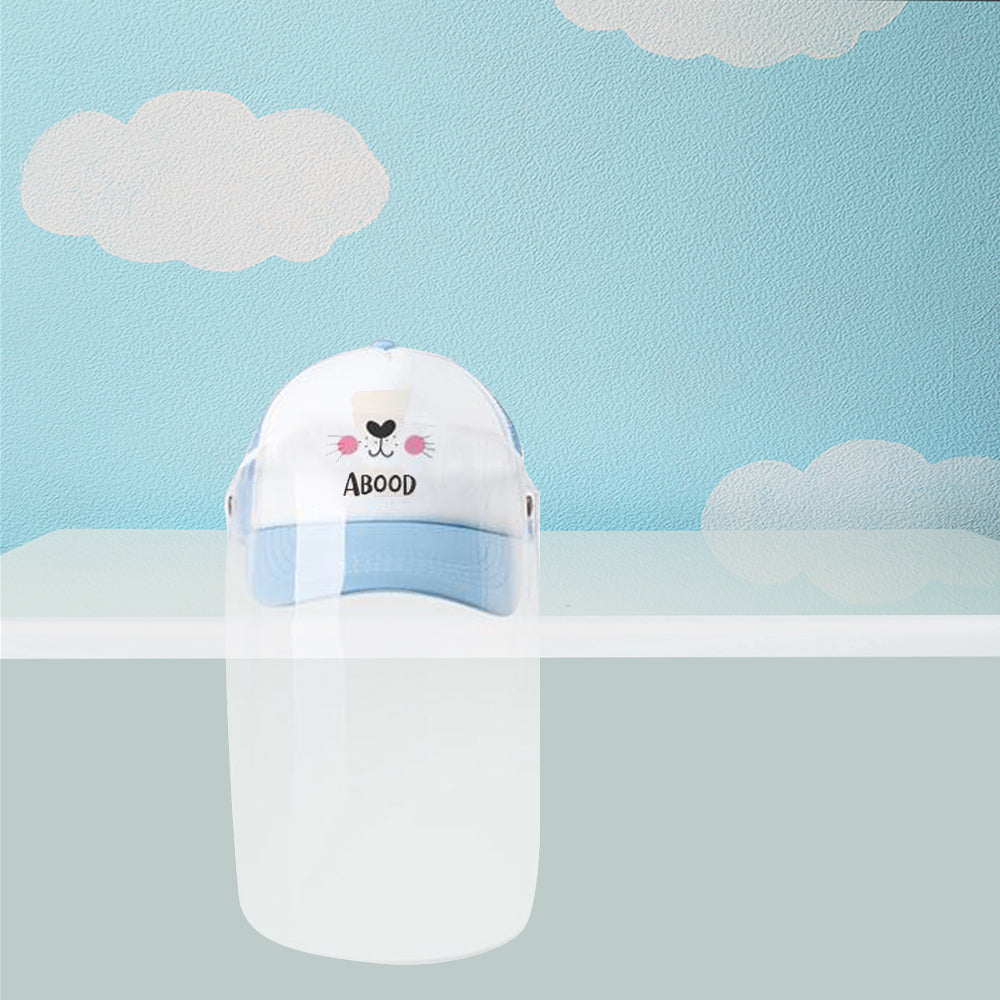 Kids Cap with Face Shield