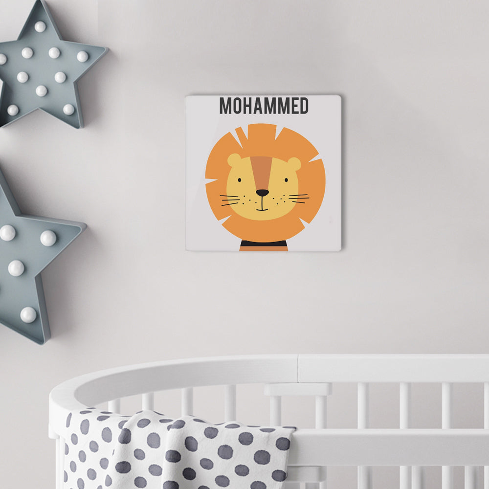 Baby Name Wall Art