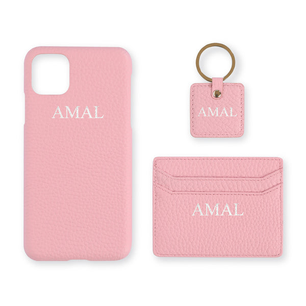Pink Leather Set - Gift
