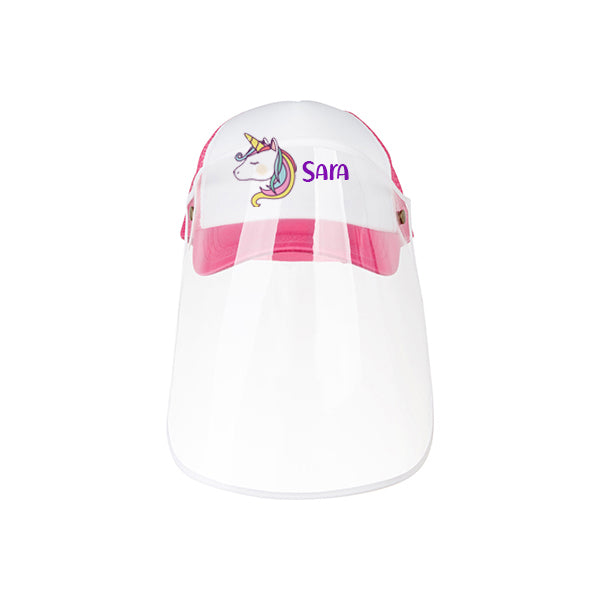 Kids Cap with Shield / Face Shield / Kids Face Shield