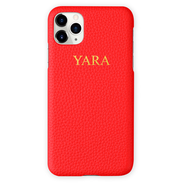 Leather iPhone Case - Add your name