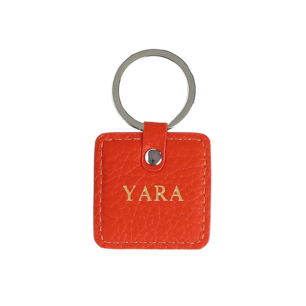 Leather Keychain - Add your name