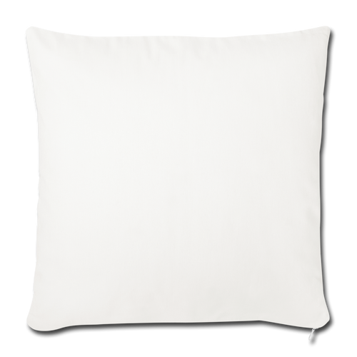 Chic Throw Pillow Cover - natural white
