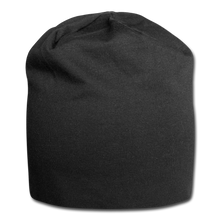 Load image into Gallery viewer, Jersey Beanie - black