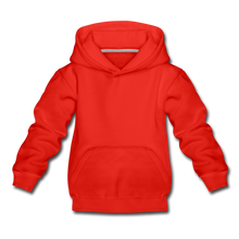 Load image into Gallery viewer, Kids' Premium Hoodie - red