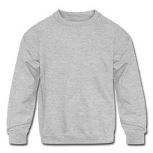 Load image into Gallery viewer, Kids' Crewneck Sweatshirt - heather gray