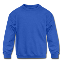Load image into Gallery viewer, Kids' Crewneck Sweatshirt - royal blue