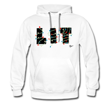 Load image into Gallery viewer, Lit Chic Luxe Hoodie - white