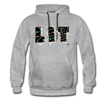Load image into Gallery viewer, Lit Chic Luxe Hoodie - heather gray