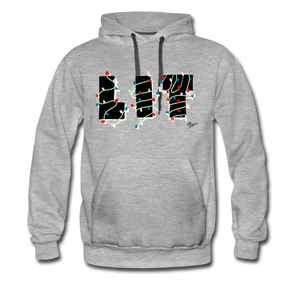 Lit Chic Luxe Hoodie - heather gray