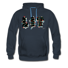 Load image into Gallery viewer, Lit Chic Luxe Hoodie - navy