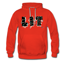 Load image into Gallery viewer, Lit Chic Luxe Hoodie - red